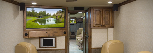 HD TV Front RV Installation